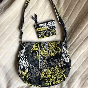 LIKE NEW Vera Bradley adjustable strap bag, purse